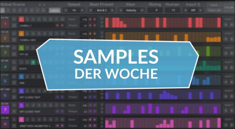 Samples der Woche: Trails, Zithergeist, Street Percussion, Upright Piano