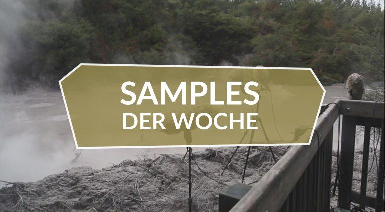 Samples der Woche: AMB017 GEO, Snow Footsteps Sound Effects, Sore