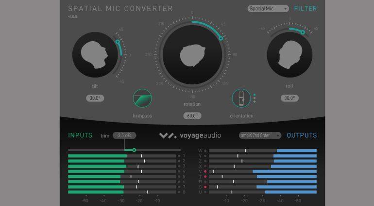 Voyage Audio Spatial Mic SM Converter_Plugin