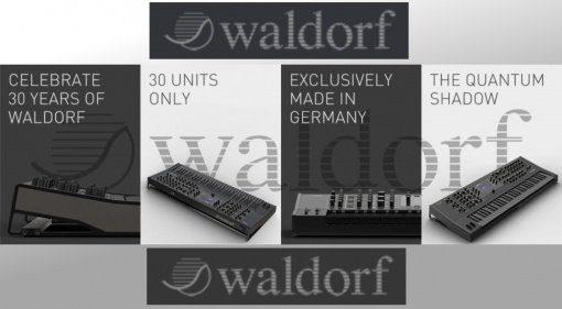 Waldorf Quantum Sonderauflage - 30 Jahre