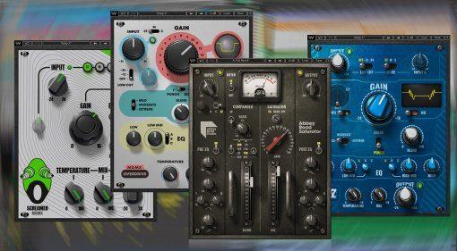 Waves veröffentlicht Abbey Road Saturator und weitere Distortion Plug-ins