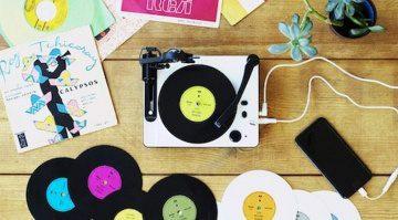 5-Zoll Schallplattenschneider für unter 200 Euro: Gakken Toy Record Maker