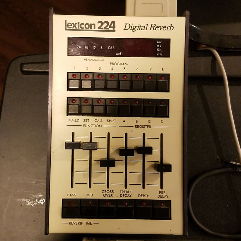 1978 Lexicon 224 Reverb Unit
