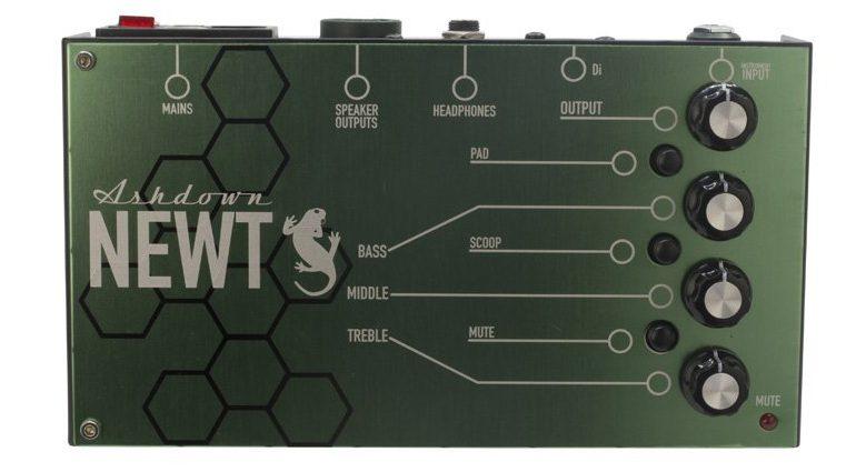 Ashdown Newt Pedal Bass Amp Front