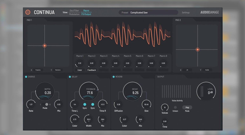 Audio Damage AD051 Continua