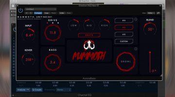 Aurora DSP Mammoth: DAS Bass Plug-in jetzt günstiger auf Kickstarter!