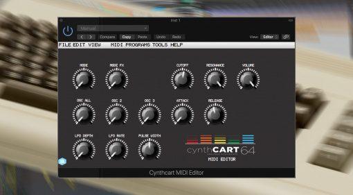 Autodafe Cynthcart: Dein C64 wird zum vollwertigen Synthesizer!