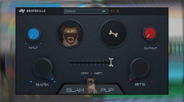Beatskillz Slam Pup: Vorsicht dieses Freeware Plug-in beißt! Kostenlos!