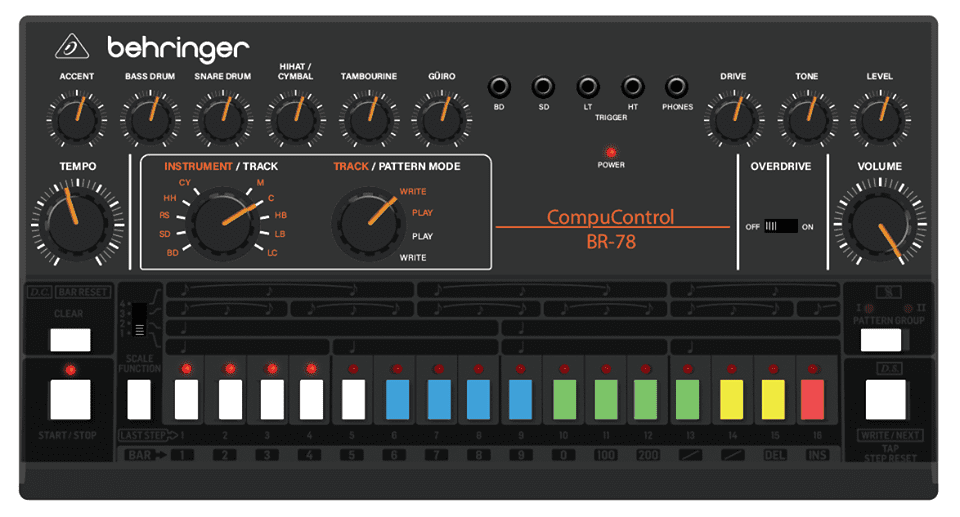 Behringer CR-78 Andreas H