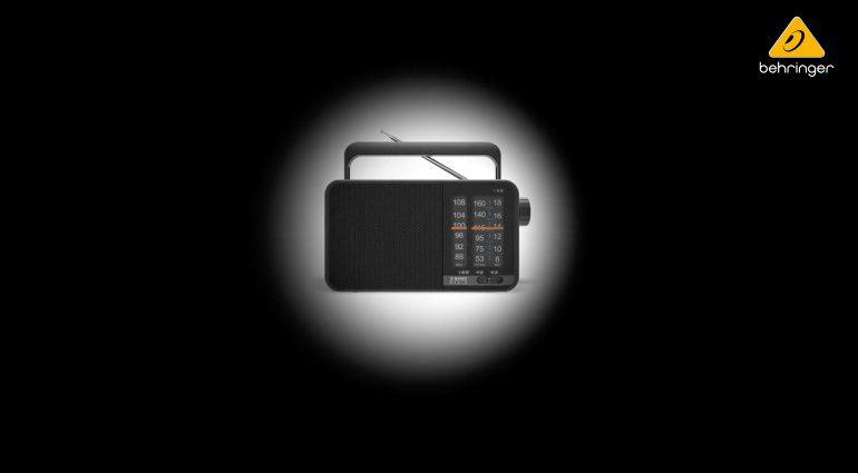 NAMM 2020: Behringer kündigt ein Radio an - wie bitte?