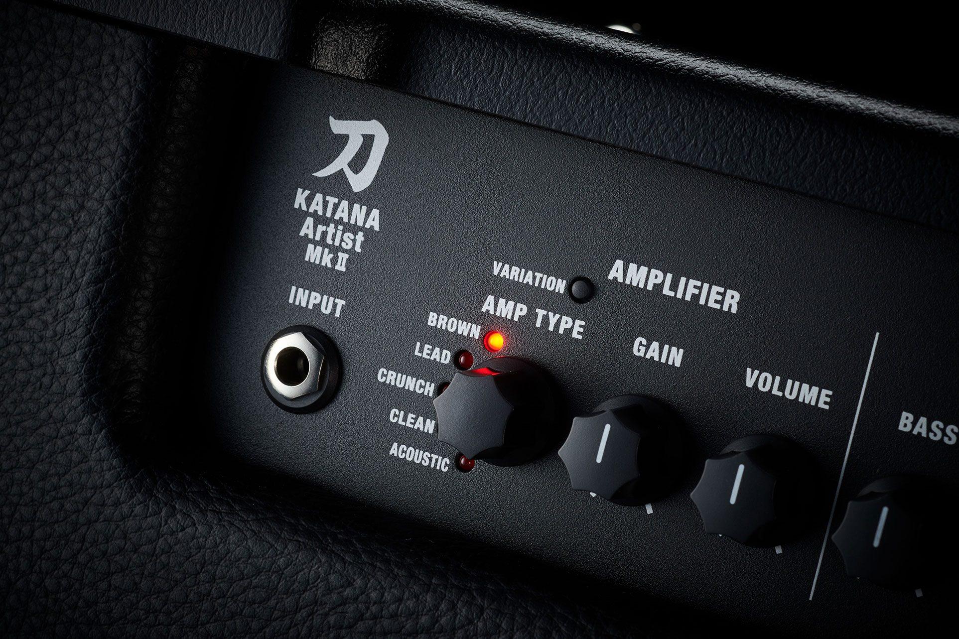 Boss Katana-Artist MKII Amp Combo Front Panel 1