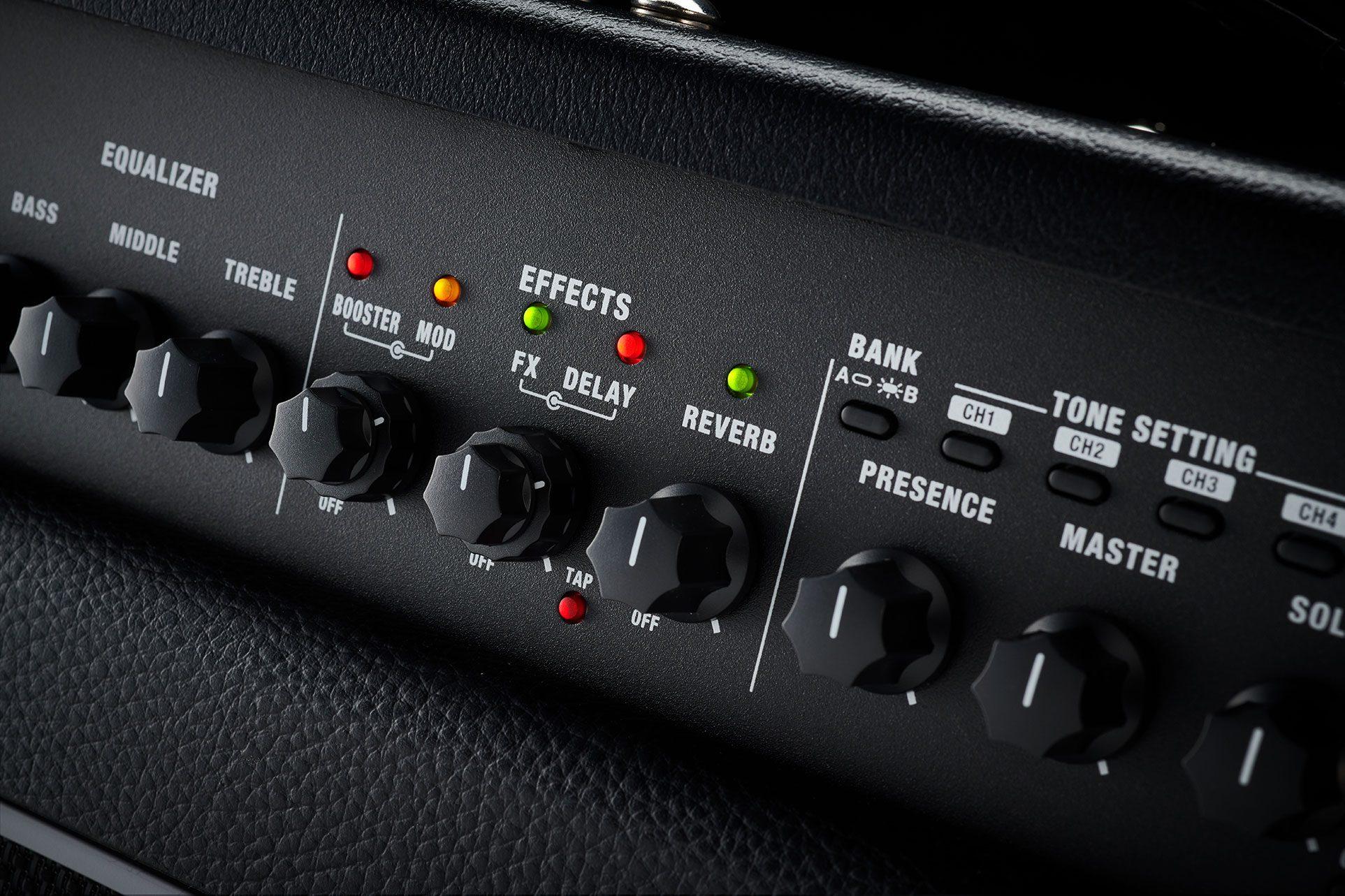 Boss Katana-Artist MKII Amp Combo Front Panel FX