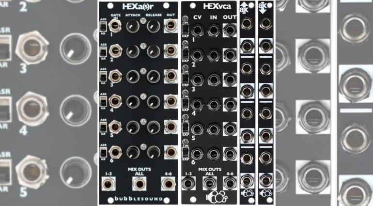 Bubblesound Module HEX ENV VCA