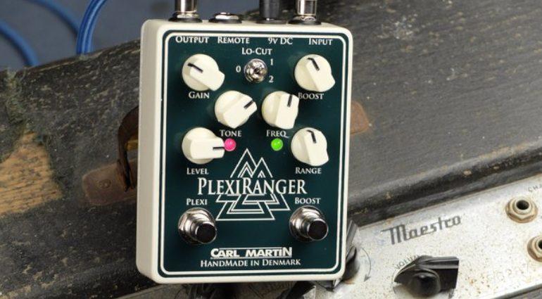 Carl Martin PlexiRanger Overdrive Boost Effekt Pedal Groß