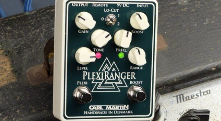 Carl Martin PlexiRanger Overdrive Boost Effekt Pedal