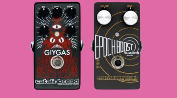 Catalinbread Giygas fuzzEQ and Epoch Boost 1