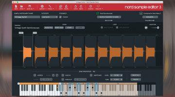 Nord Sample Editor 3: kostenlose Bearbeitungs-Software für Nord Keyboards
