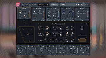Deal: iZotope VocalSynth 2 für kurze Zeit mit 75 Prozent Rabatt!