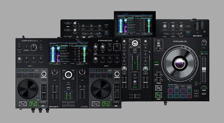 Denon DJ Prime 2 und Go Mixstation mit Akkubetrieb