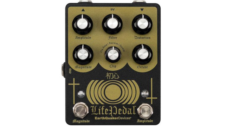 Earthquaker DEvices Life Pedal V2 Sunn O))) Front