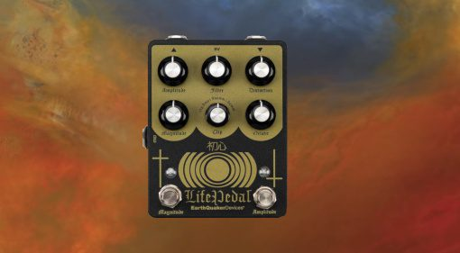 Earthquaker DEvices Life Pedal V2 Sunn O))) Teaser