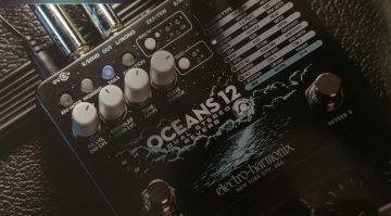 Electro-Harmonix Oceans 12 Reverb Effekt Pedal Leak