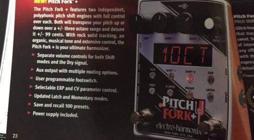 Electro-Harmonix Pitch Fork Plus Effekt PEdal Leak