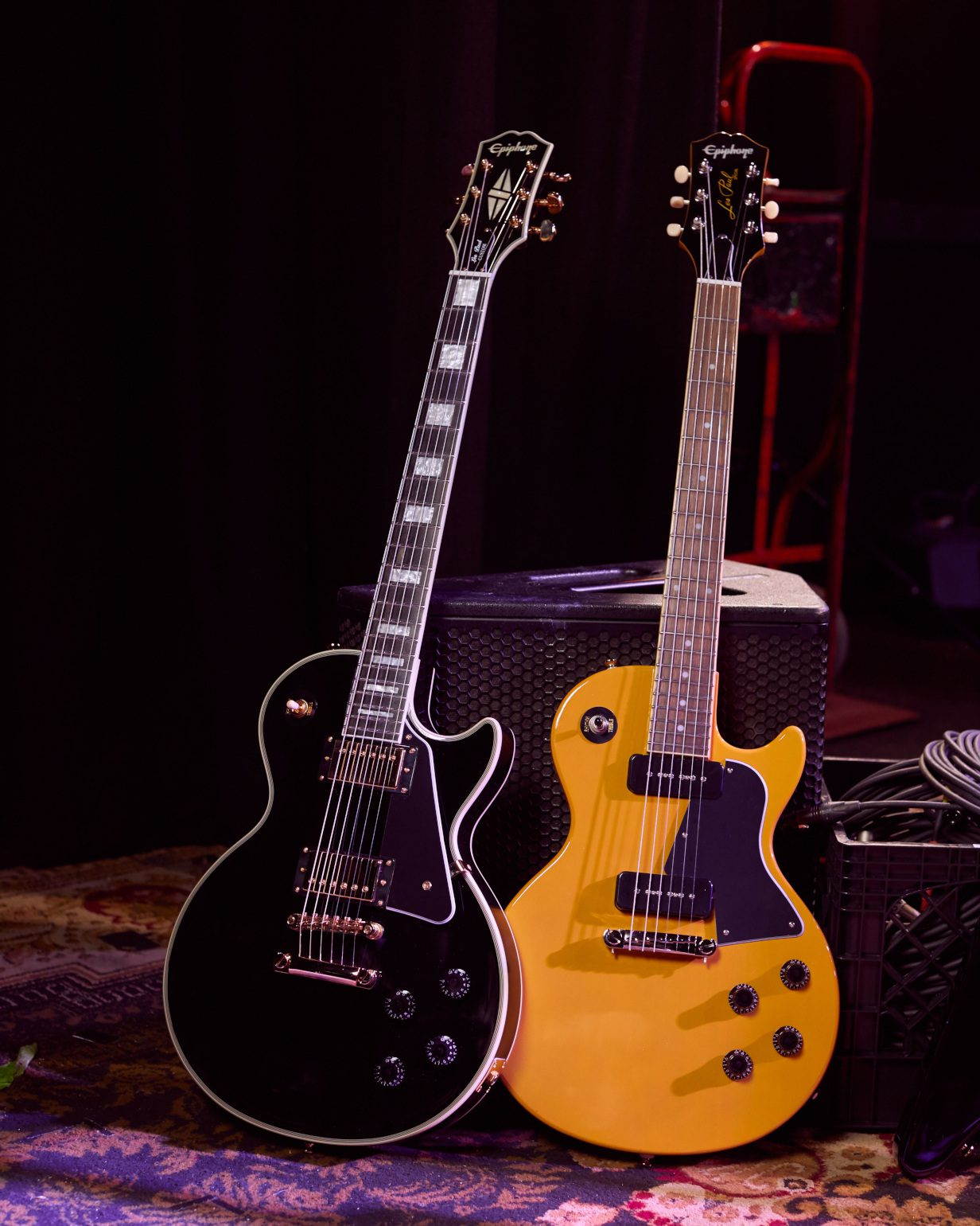 Epiphone Inspired by Gibson 2020 Serie Les Paul Special TV YEllow