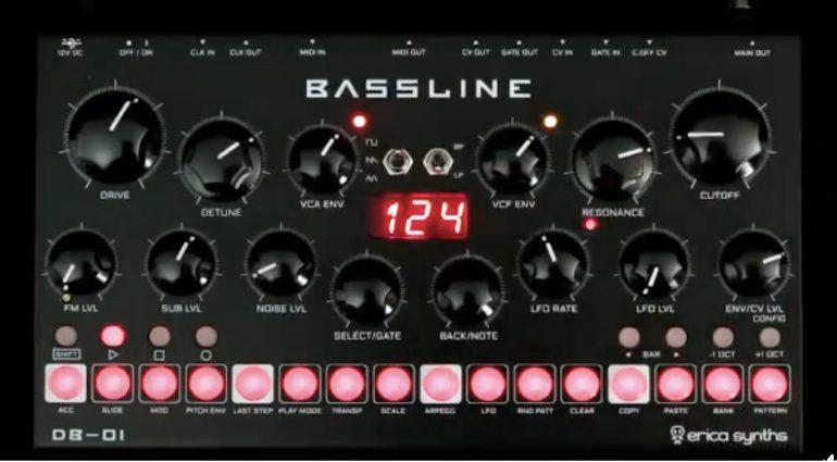 Erica DB-01 Bassline