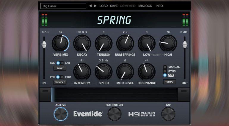 Eventide Spring: alle populäre Spring Reverbs in einem Plug-in