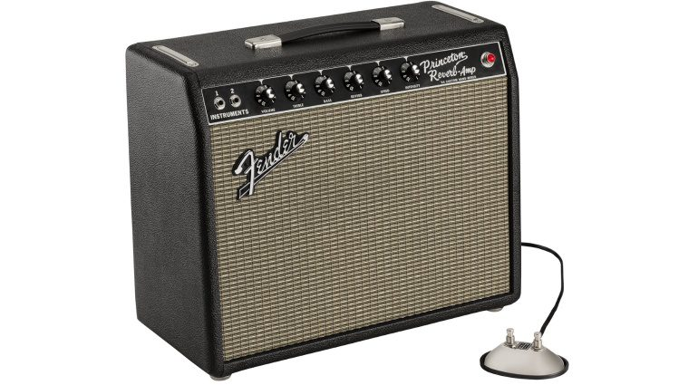 Fender-hand-wired-64-Custom-Princeton-Reverb-and-footswitch