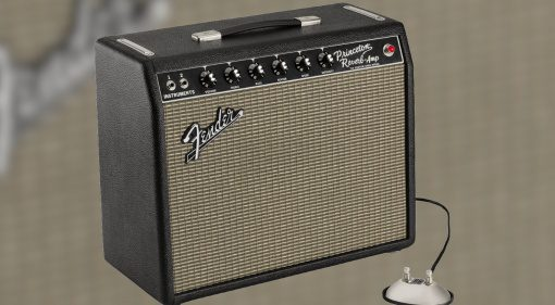 Fender-hand-wired-64-Custom-Princeton-Reverb-and-footswitch teaser