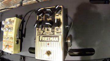Friedman Small Box pedal based on small box amp
