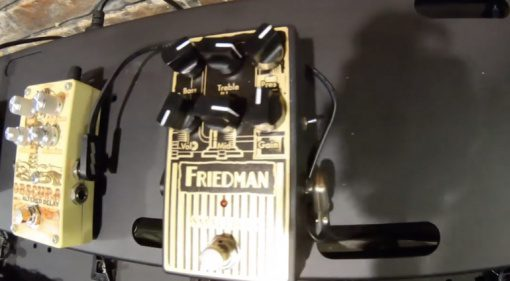 Friedman Small Box pedal based on small box amp
