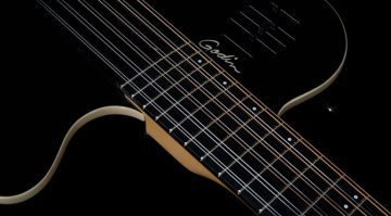 Godin A12 Black HG chambered 12-string Teaser