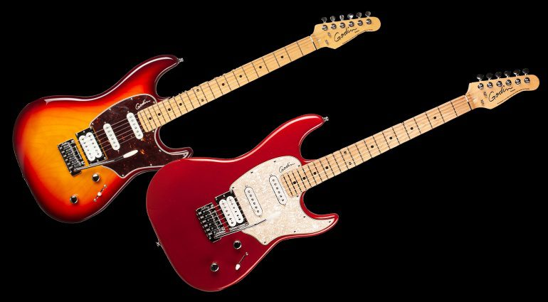Godin Session LTD Cherry Burst Desert Red Teaser