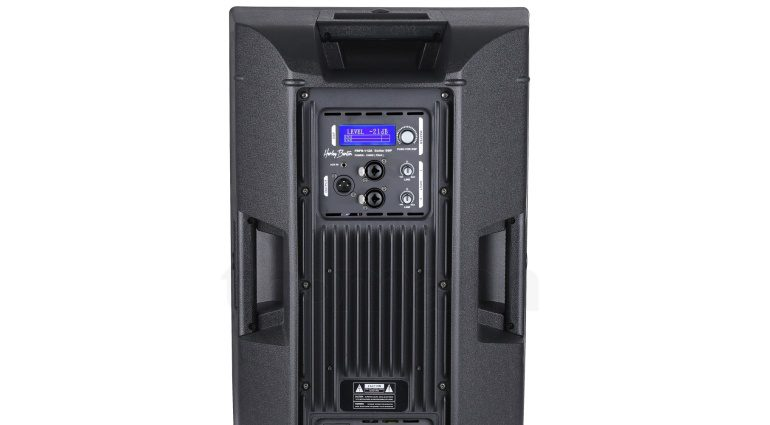 Harley Benton FRFR 112A DSP Aktiv Monitor Box Rueckseite