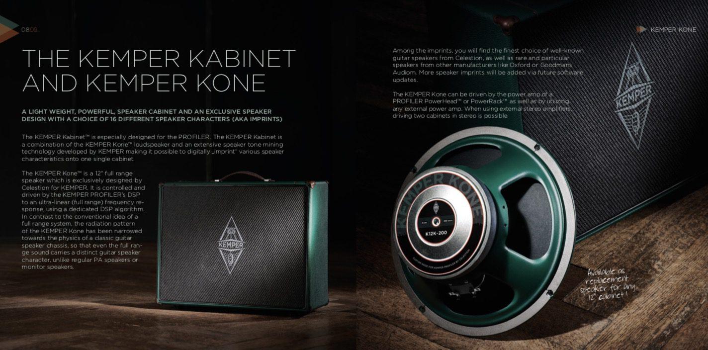 Kemper Kone leak speaker