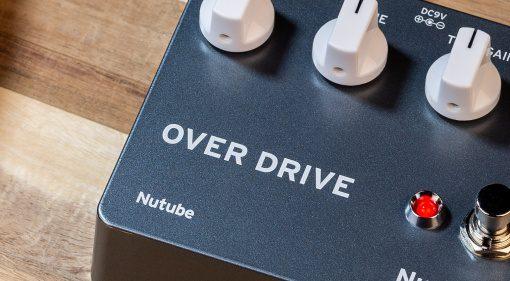 Korg NuTekt OD-S Overdrive DIY Effekt Pedal Front Slant Teaser
