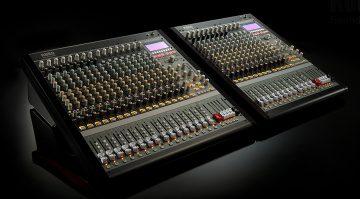 Korg MW-2408 und MW-1608 SoundLink-Mischpulte