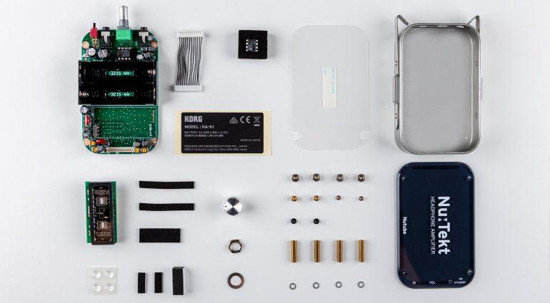 Korg Nu:Tekt HA-S DIY HP-Amp mit Nutube-Röhre