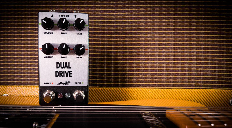 Magnetic Effetcts Dual Drive Pedal Effekt Rat Tube Screamer 1
