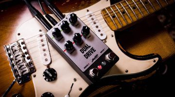 Magnetic Effetcts Dual Drive Pedal Effekt Rat Tube Screamer