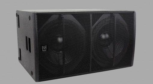 Martin Audio stellt Blackline X218 Subwoofer