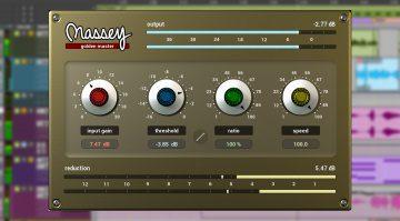 NAMM 2020: Massey Plugins veröffentlicht Golden Master Soft Clipper für ProTools