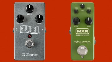 MXR Crybaby Q Zone Fixed Wah Thump Bass Preamp