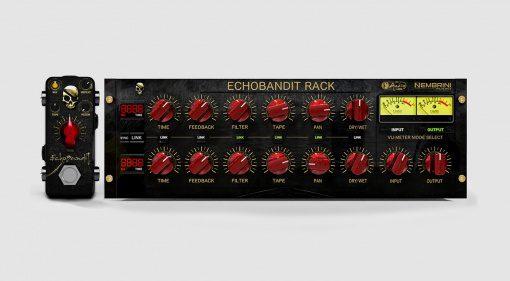 Nembrini Audio veröffentlicht das F-Pedals Echobandit mit zwei Versionen