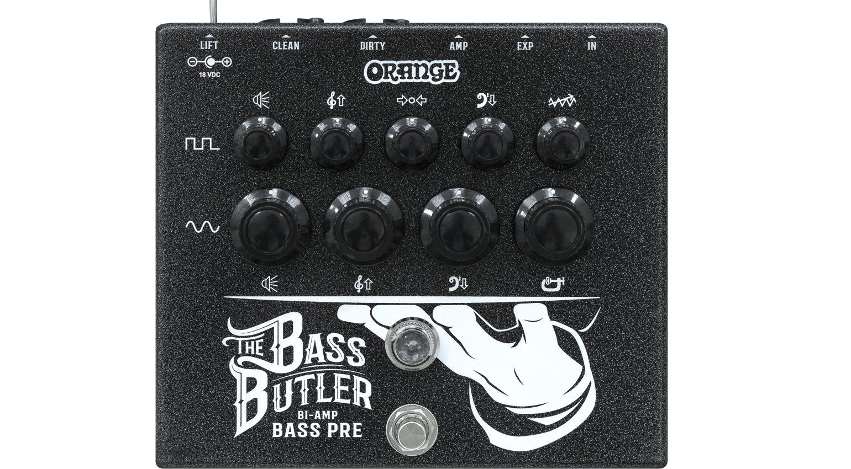 orange bass butler pedal front