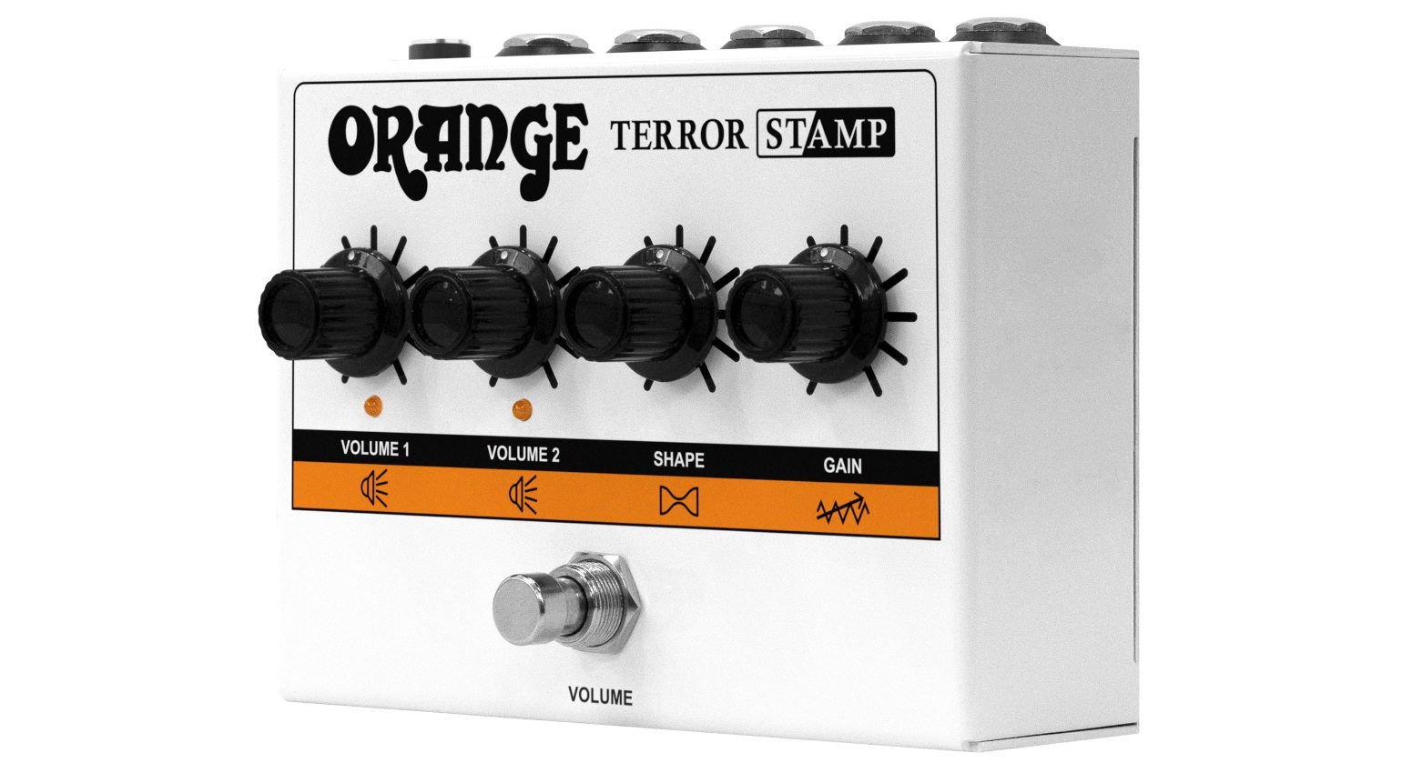Orange Terror Stamp Amp Slant