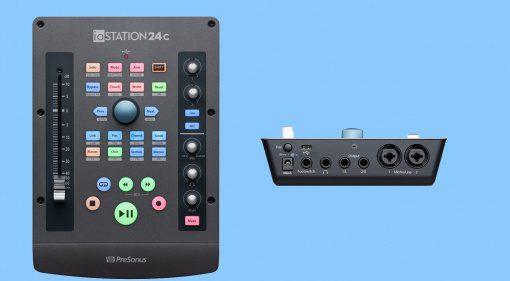 Presonus ioStation 24c mixt Interface mit Faderport